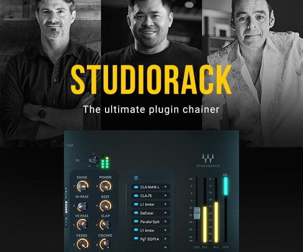 Waves StudioRack update
