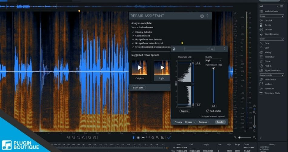 iZotope RX 7 Elements FREE