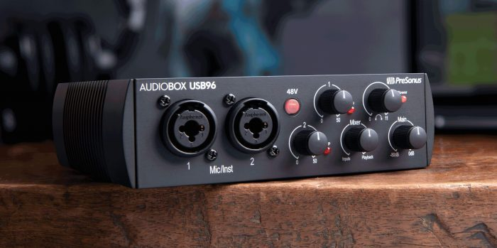 presonus 25yr audiobox 96