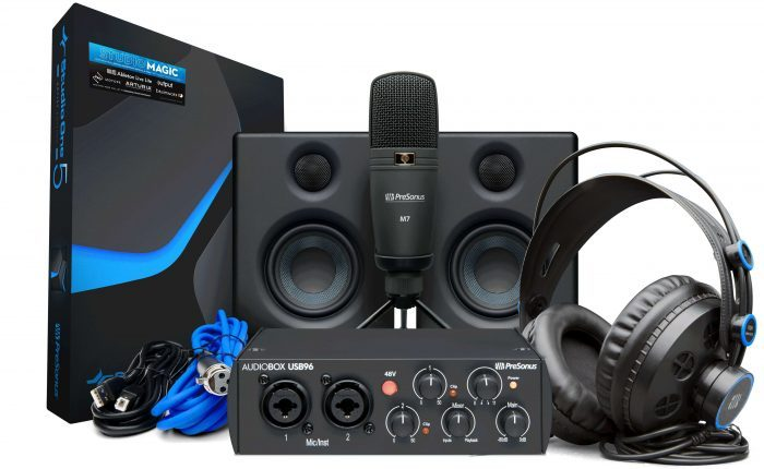 presonus 25yr audiobox 96 studio ultimatebundle