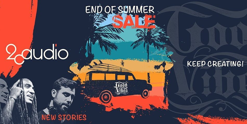 2CAudio Summer Sale 2020