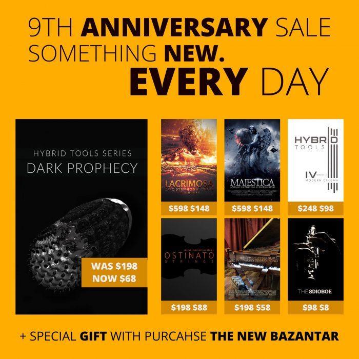 8Dio 9th Anniversary Sale