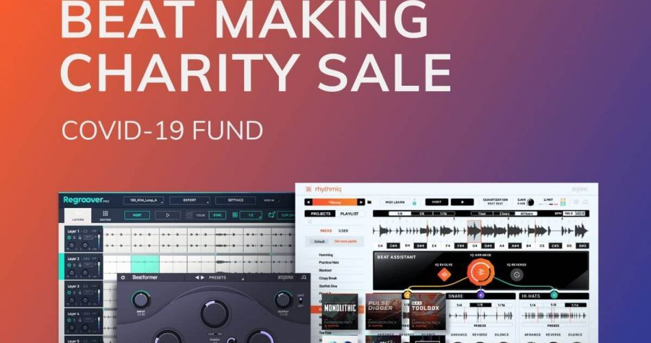 Accusonus Beat Making Charity Sale SQ
