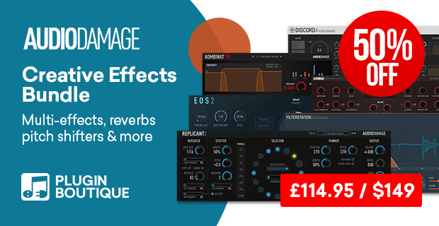 Audio Damage Creative Effects Bundle