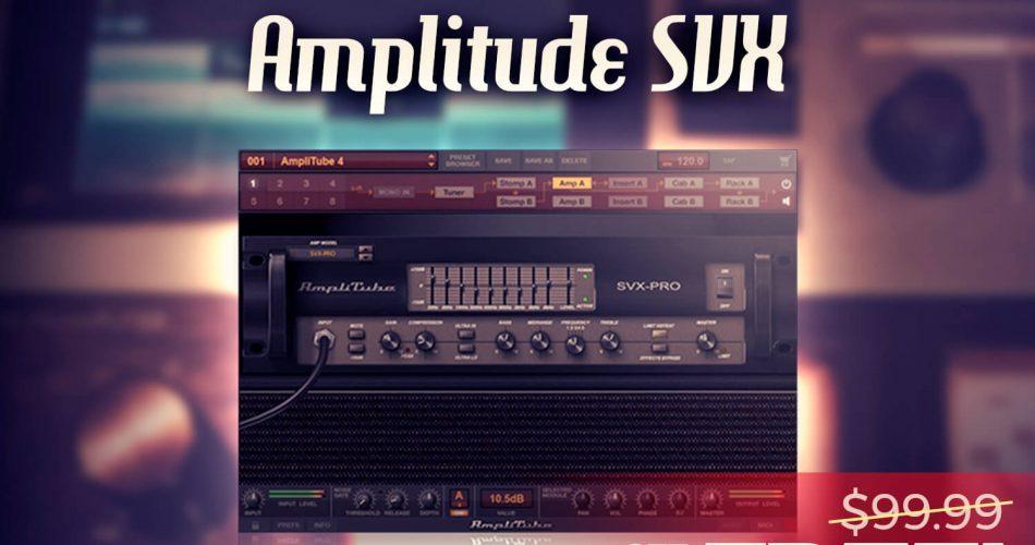 Audio Plugin Deals FREE Amplitude SVX