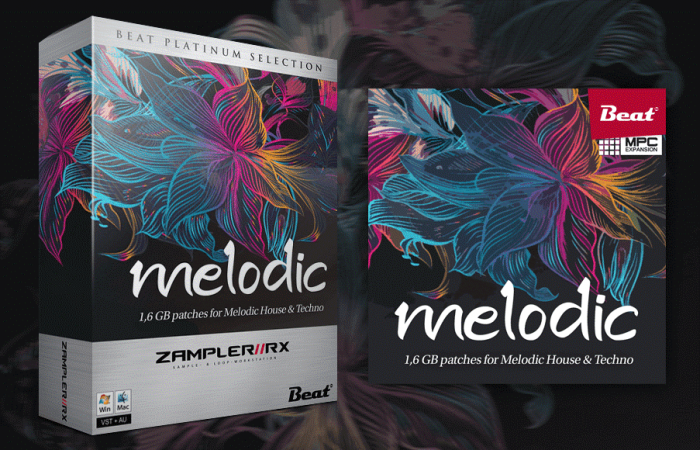 Beat Melodic for Zampler and MPC
