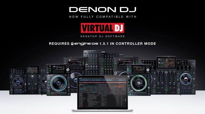 Denon DJ Virtual DJ Engine OS