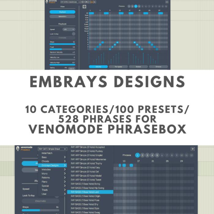 Embrays Designs Venomode Phrasebox
