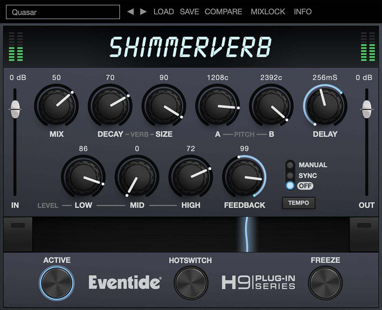 Eventide releases ShimmerVerb massively lustrous reverb plugin