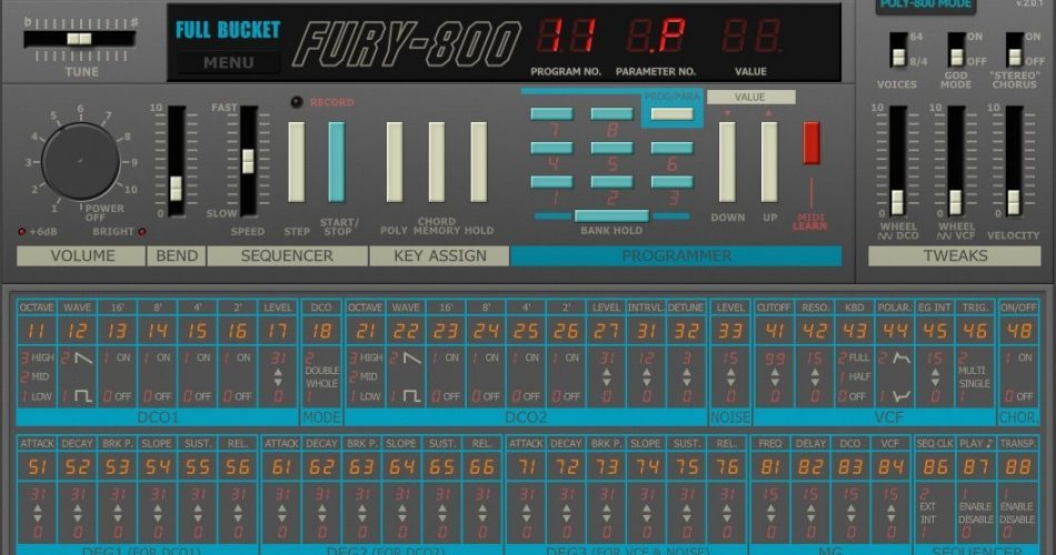 Full Bucket Music Fury 800 v2.0.1