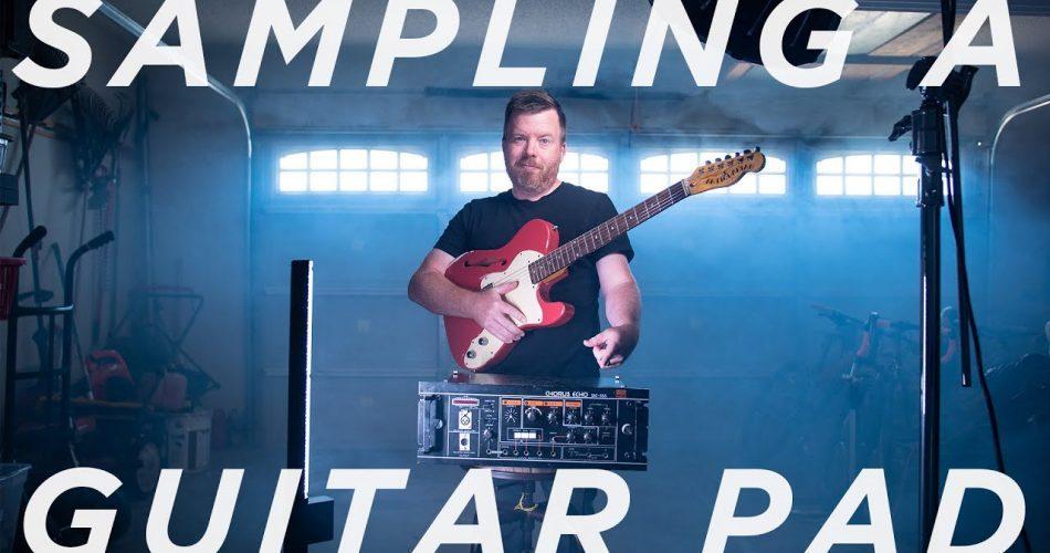 Jon Meyer Sampling A Guitar Pad