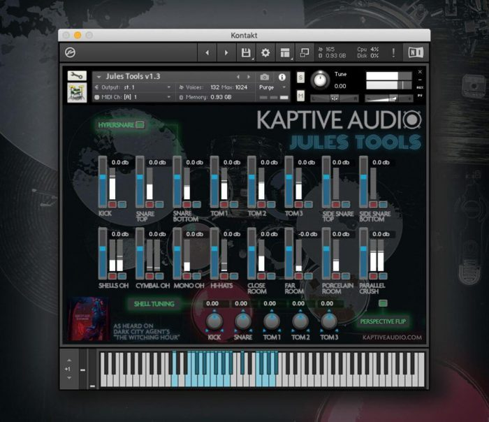 Kaptive Audio Jules Tools