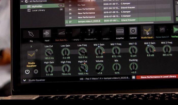 Kemper Profiler OS update