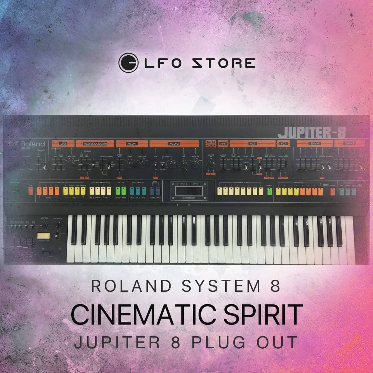 LFO Store launches Cinematic Spirit soundset for Roland Jupiter-8 Plugout