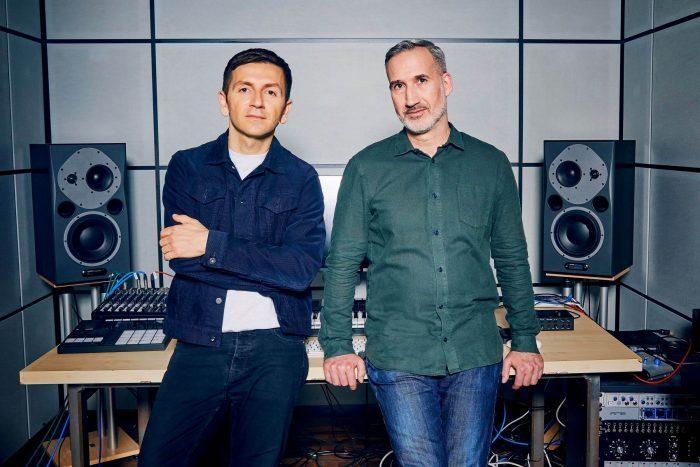 Mate Galic and Daniel Haver