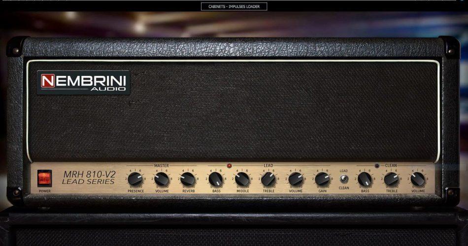 Nembrini Audio MRH810 V2