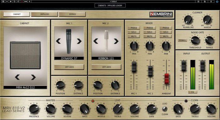 Nembrini Audio MRH810 V2 cabinet