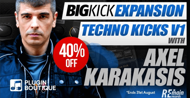 BigKick Techno Axel Karakasis 40% OFF