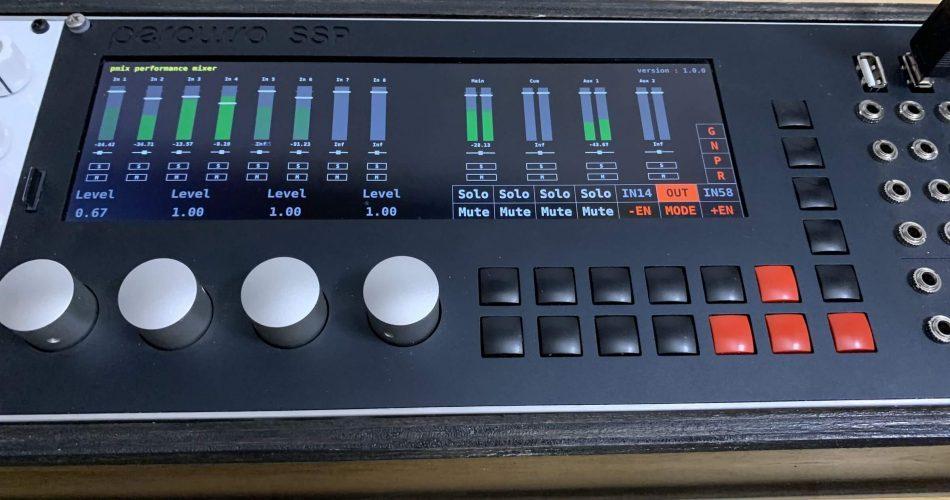 Percussa SSP mixer TheTechnoBear