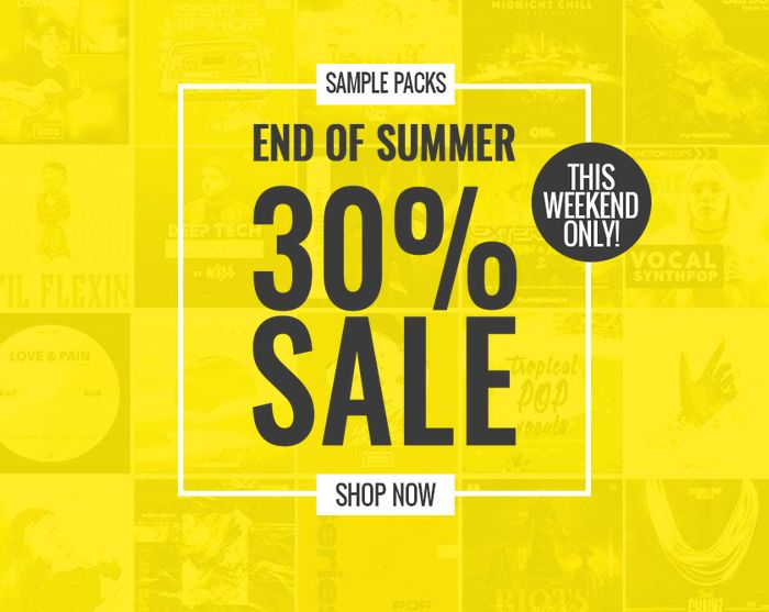 ProducerSpot End of Summer Sale 30 OFF
