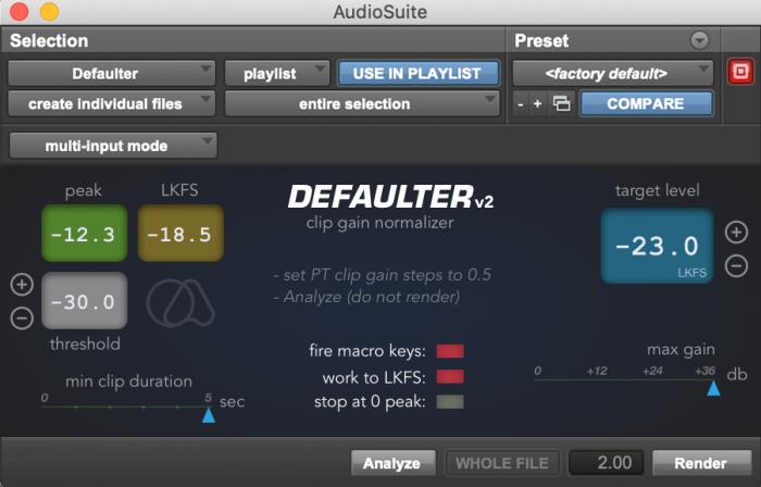 Quiet Art Defaulter v2