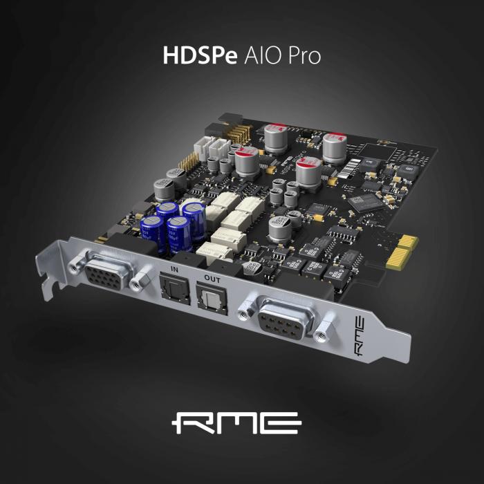 RME HDSPe AIO Pro