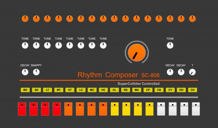 Rhythm Composer SC 808