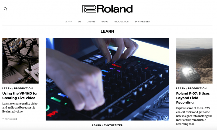 Roland Learn