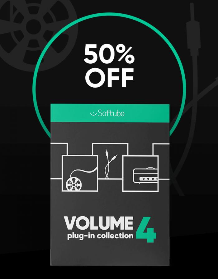 Softube Volume 4 sale 50 OFF