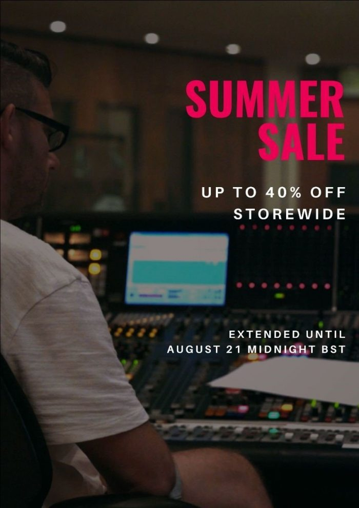 Sonixinema Summer Sale 2020 extended