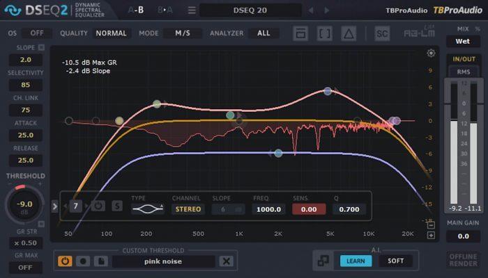 TbProAudio DSEQ 2