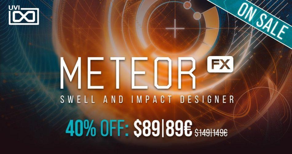 UVI Meteor Sale