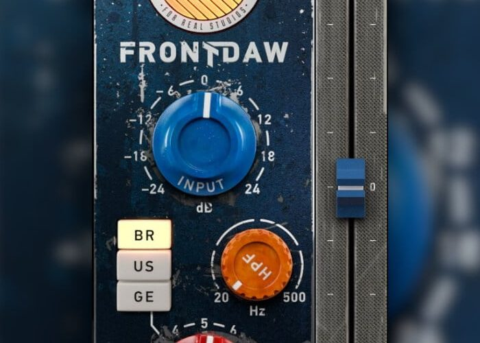 United Plugins Front DAW output fader