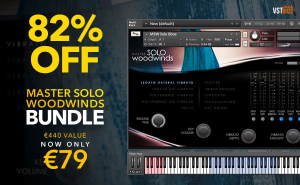VST Buzz Master Solo Woodwinds Bundle