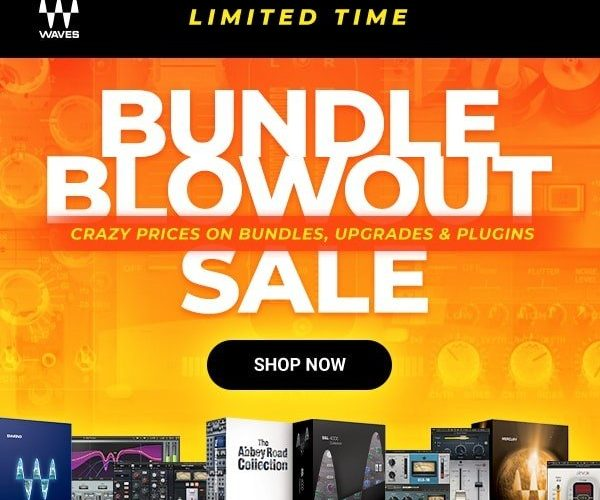 Waves Audio Bundle Blowout Sale