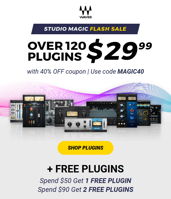 Waves Studio Magic Flash Sale