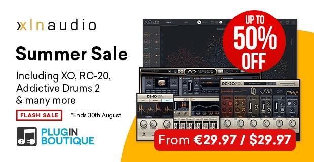 XLN Audio Summer Sale 50 OFF