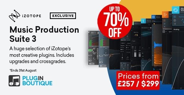 iZotope MusicProductionSuite 70
