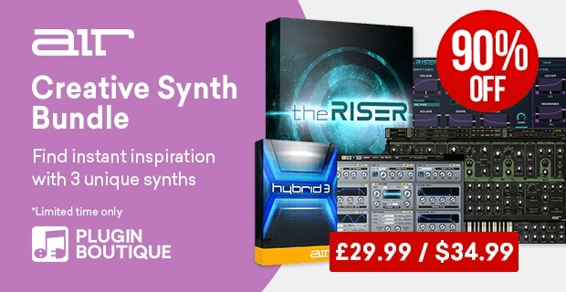 Save up to 90% on AIR Music Tech's synths & keys instruments