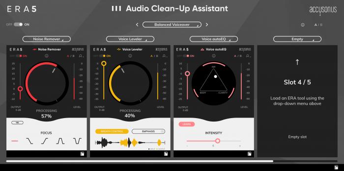 Accusonus Audio Cleanup Assistant