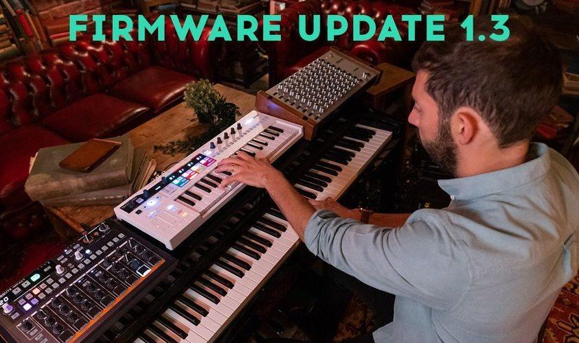 Arturia KeyStep Pro firmware 1.3