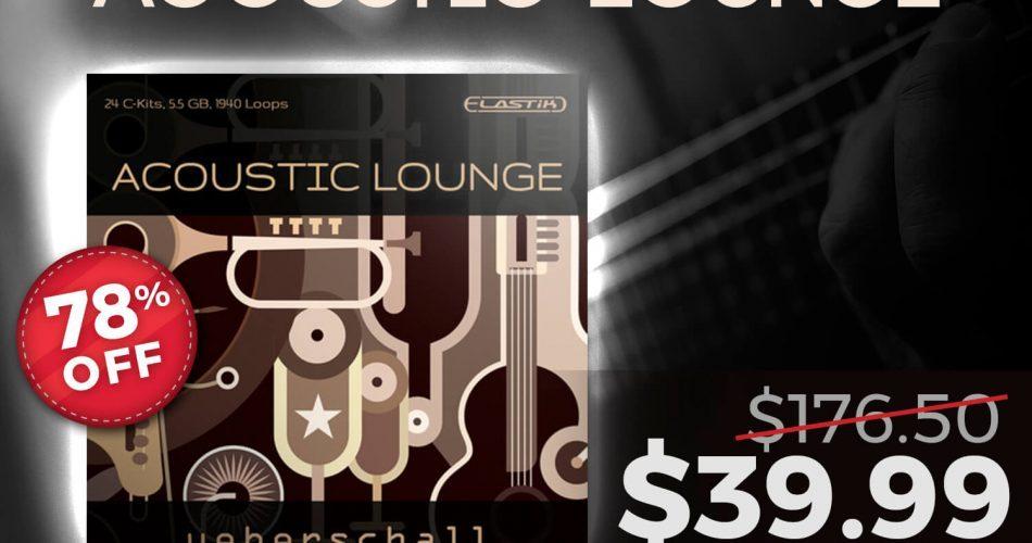 Audio Plugin Deals Ueberschall Acoustic Lounge