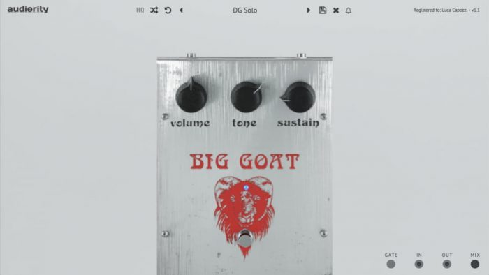 Audiority BigGoat GUI