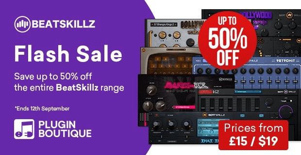 Beatskillz Flash Sale 50 OFF