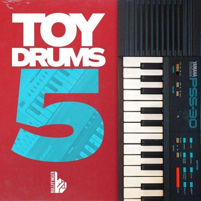 Bullyfinger Toy Drums 5
