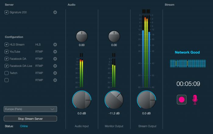 Dialog Audio Live Processor