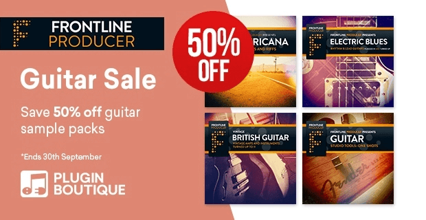 Frontline Producer Guitar Sale