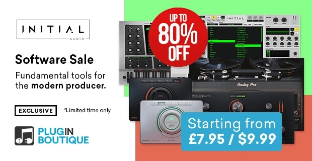 InitialAudio Sale