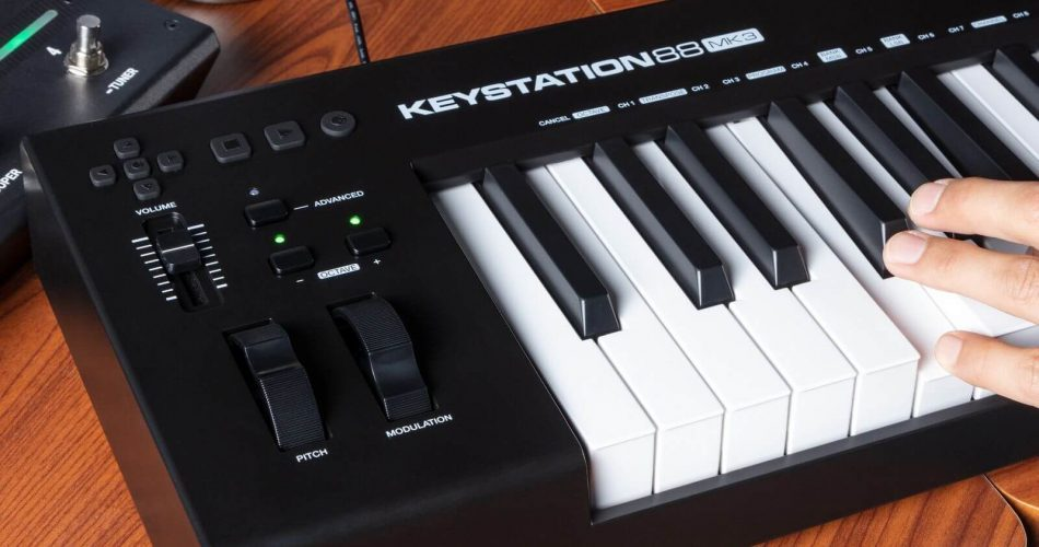 M Audio Keystation 88 Mk3 feat
