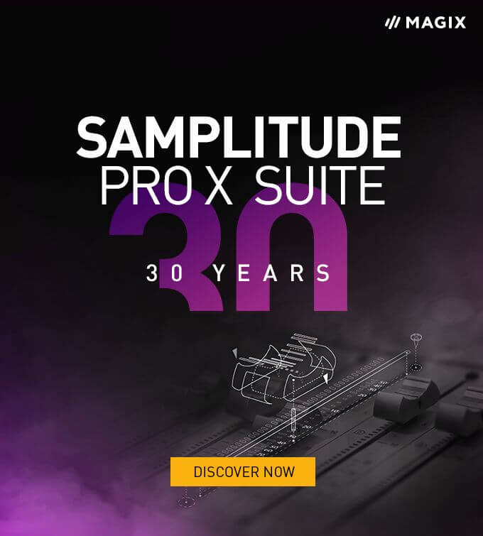 Magix Samplitude Pro X Suite Sale